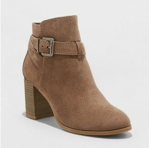 New -Tan Weatherproof booties